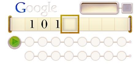 Alan Turing come risolvere il doodle