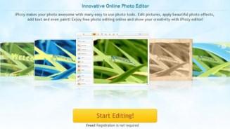 Modificare foto iPiccy