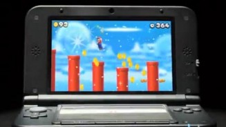 Nintendo 3DS XL mostrato in un video