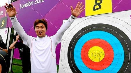 Londra 2012 tiro con arco primo record dell edizione