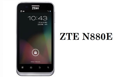 Android ecco ZTE N880E-con Jelly Bean
