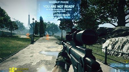 Battlefield 3 matches