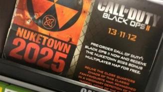COD Black Ops 2 in preordine regalo mappa Nuketown 2025
