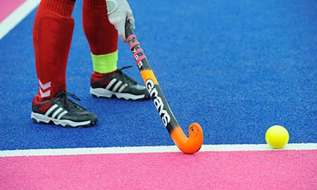 eventi Londra 2012 Hockey su prato bastone in mano
