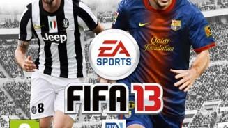 FIFA 13 copertina Claudio Marchisio con Messi