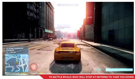 Need for Speed Most Wanted video commentato