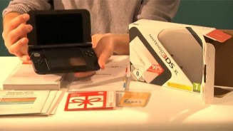 Nintendo 3DS XL unboxing