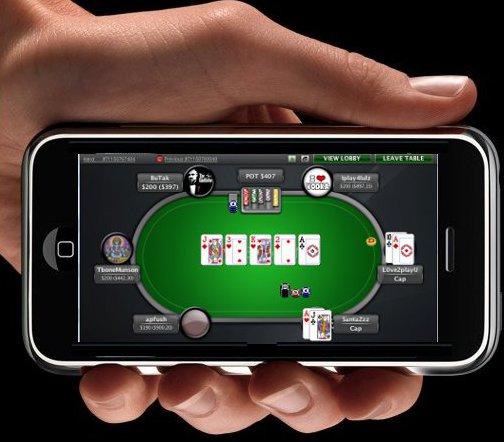 Smartphone e mobile poker