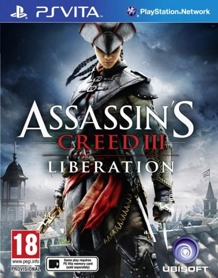 Assassins Creed 3 Liberation Ecco la copertina