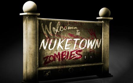 Black Ops 2 Nuketown una delle mappe zombie