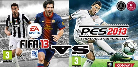 FIFA 13 VS PES 2013 quale comprerai