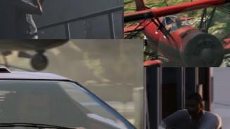 GTA 5 e i personaggi delle foto