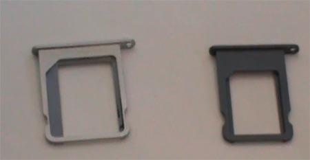 Iphone 5 alcuni componenti mostrati in un video