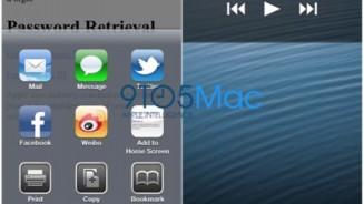 iPhone 5 alcuni screenshot del display