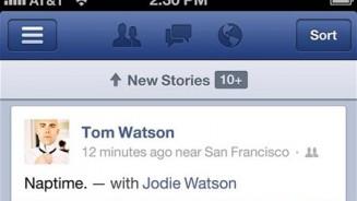 iPhone 5 applicazione di Facebook aggiornata anche per il lancio del nuovo smartphone