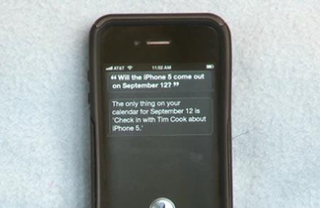 iPhone 5 cosa ne pensa Siri