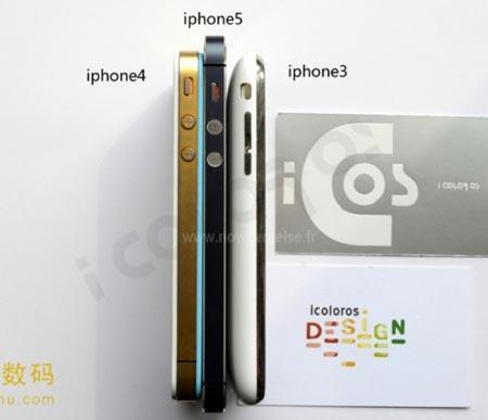 iPhone 5 e comparazione con gli iPhone precedenti