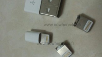 iPhone 5 il connettore dock in foto