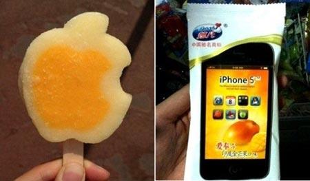 Iphone 5 il gelato acquistato dai Cinesi