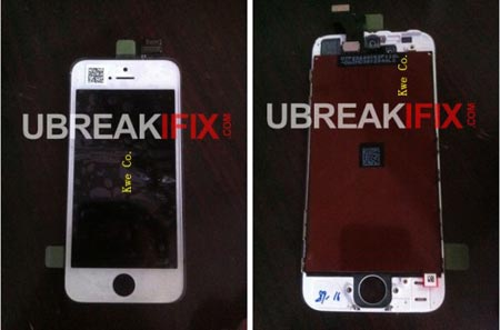 Iphone 5 schermo e pannello touch screen