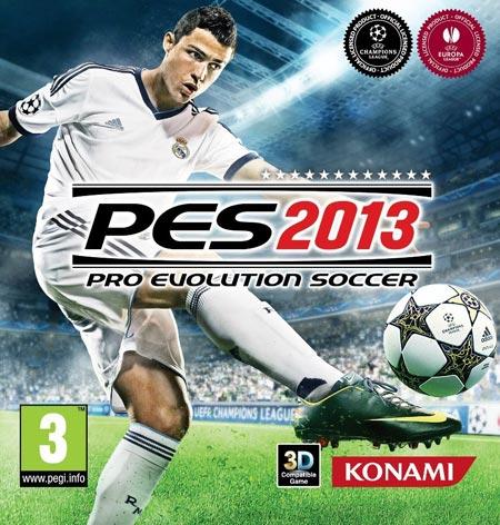 PES 2013 ecco la copertina ufficiale