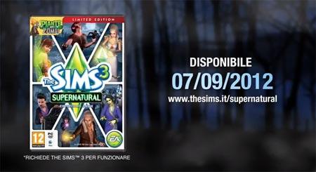 The Sims 3 Supernatural nuovo video dedicato all espansione