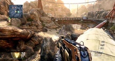 Call of Duty Black Ops 2 saluta Windows XP