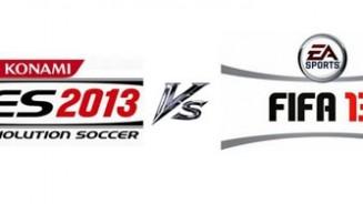 FIFA 13 contro PES 2013 la sfida