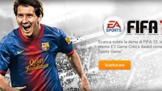 FIFA 13 demo pronta
