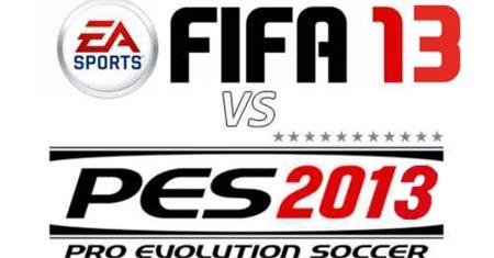 FIFA 13 e PES 2013 video e differenze