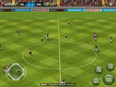 FIFA 13 scalda i motori per iOS
