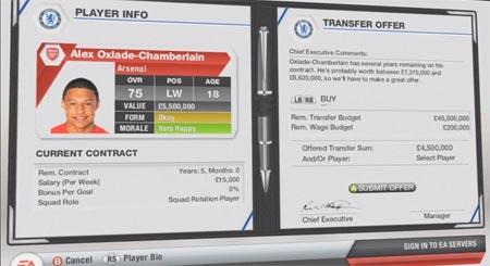 FIFA 13 video sui trasferimenti nella modalita carriera