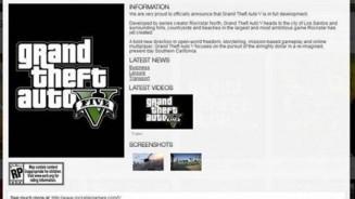 GTA 5 la sua data di uscita potrebbe essere nel 2012