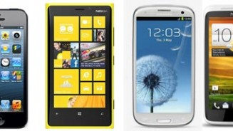 iPhone 5 vs Samsung Galaxy S3 vs Lumia 920 vs HTC One X