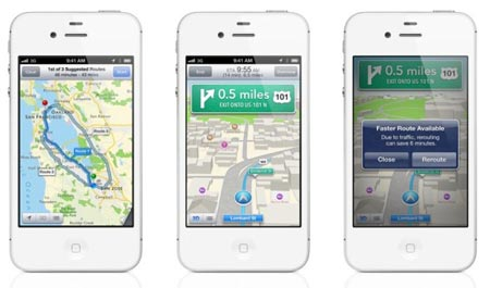 iOS 6 le mappe vanno riviste