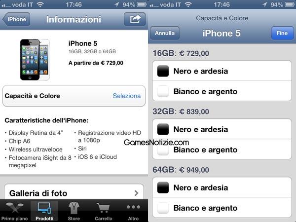 iPhone 5 prezzi ufficiali finalmente pubblicati da Apple