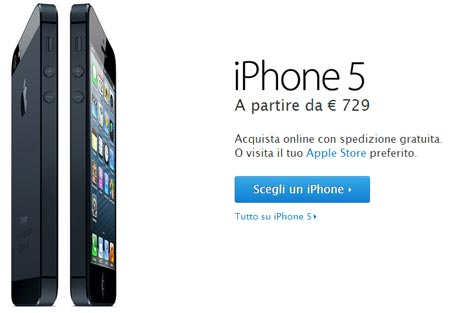 iPhone 5 prezzo day one e problemi del nuovo iPhone