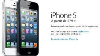 iPhone 5 prezzo di 679 euro in Germania e Francia E il costo in Italia