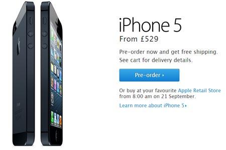 iPhone 5 prezzo sconosciuto in Italia, intanto partono i preordini