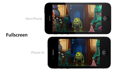 iPhone 5 video confronto tra display