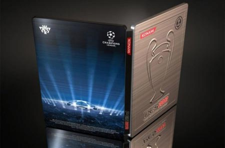 PES 2013 copertina metallica della Champions League a chi preordina