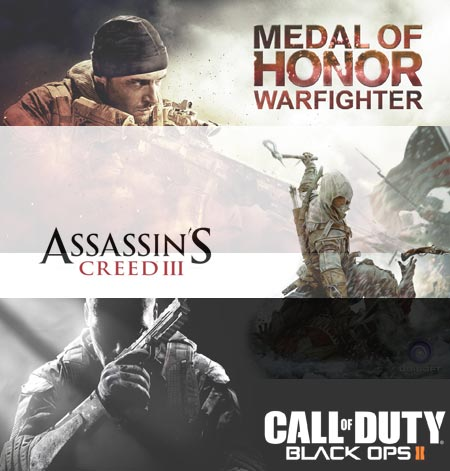 Assassins Creed 3 Black Ops 2 e Medal of Honor Warfighter quale acquistare