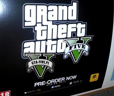 GTA 5 un poster trapelato in rete