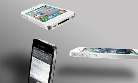 iPhone 5 VS iPhone 4S vs iPhone 4 la sfida