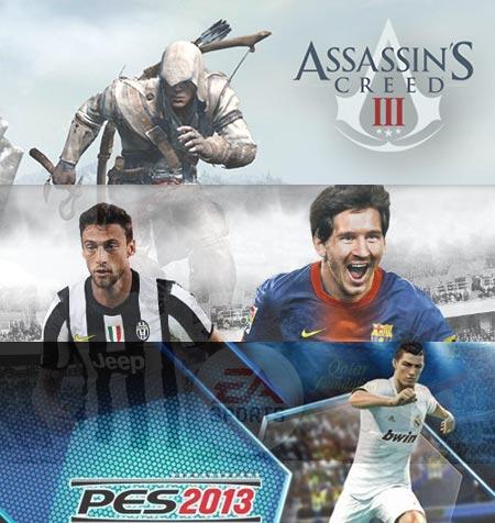 Assassins Creed 3 FIFA 13 e PES 2013 tra i titoli piu venduti della settimana