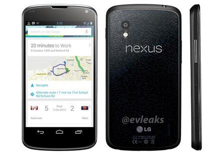 Nexus 4 le prime video recensioni e dettagli sulla batteria