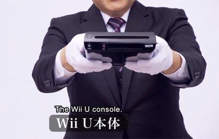 Nintendo Wii U il primo unboxing viene fatto dal presidente