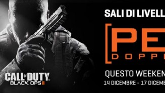 Black Ops 2 punti doppi questo weekend