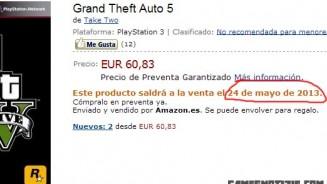 GTA 5 Amazon spagnolo annuncia una data di uscita