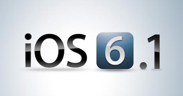 Jailbreak iOS 6 Apple rilascia la versione di iOS 6.0.2 e la beta 4 di iOS 6.1